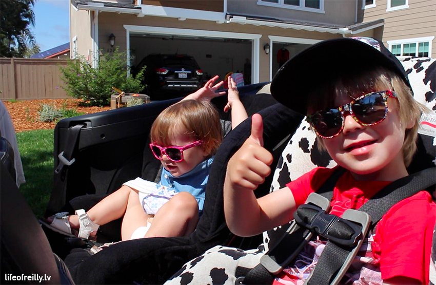 Dylan still talks about having a convertible in America! He's going to be disappointed on our next trip!!