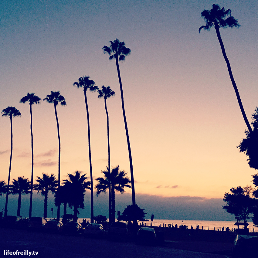 There's a different place to watch an amazing sunset every night in La Jolla!