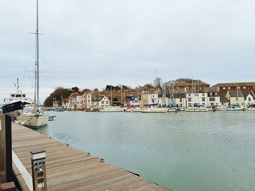 The Old Harbour in Weymouth is a great place to wander around. Photo: Amy Kartar