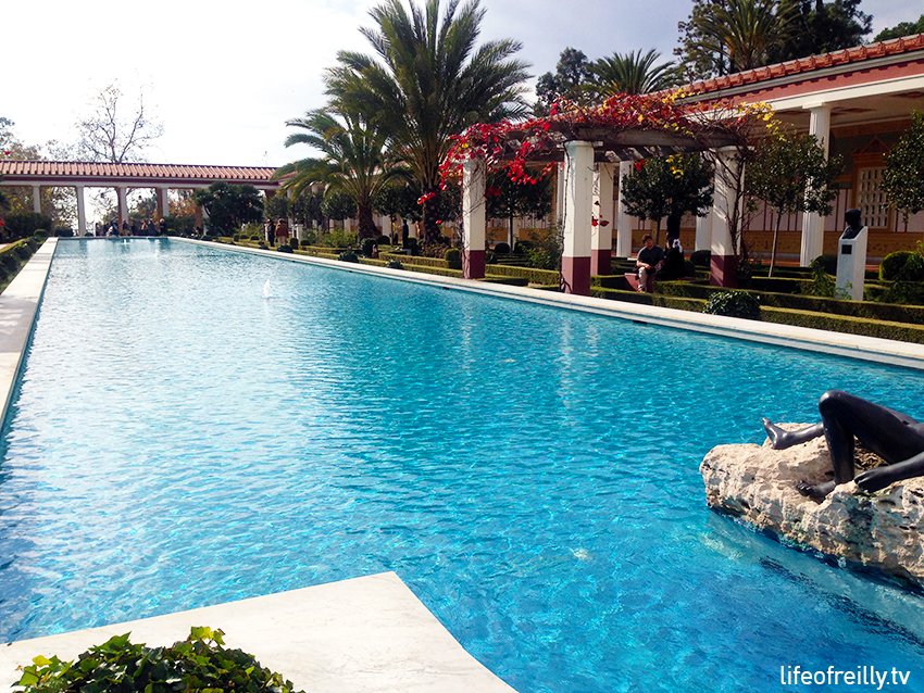 The Getty Villa is a great place to stop for a bit of culture (and lunch) in Malibu.
